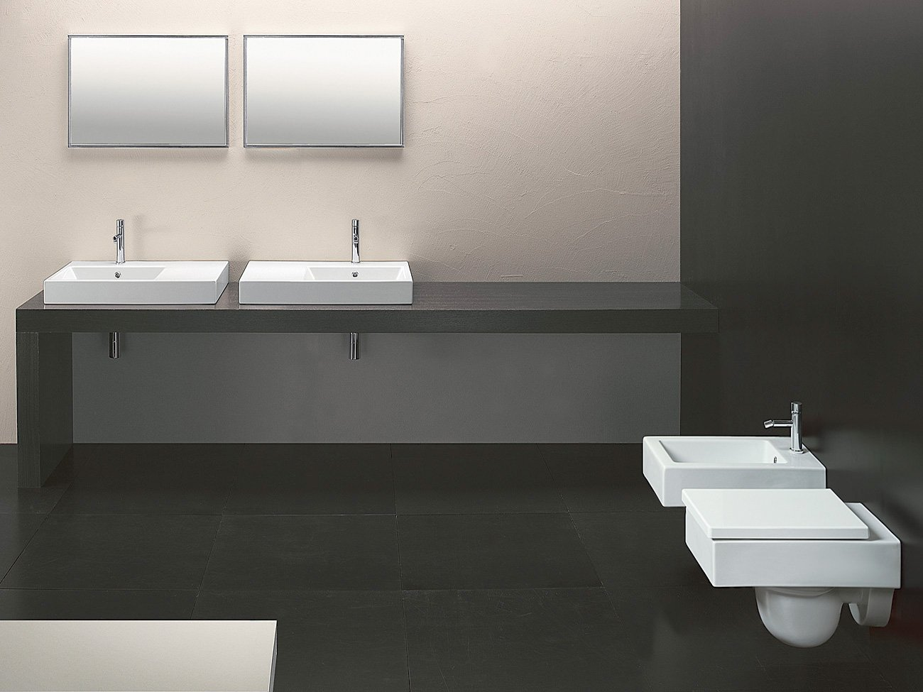 Zero domino 75 lavabo by ceramica catalano design cdc catalano for Ceramica catalano