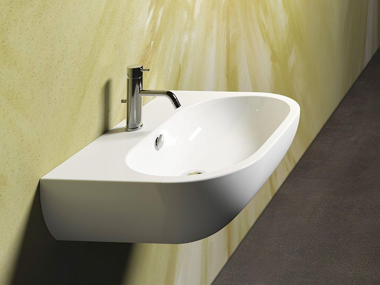 sfera 65 lavabo by ceramica catalano dise o cdc catalano. Black Bedroom Furniture Sets. Home Design Ideas