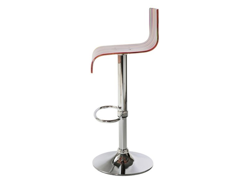 Tabouret de bar barstool tabouret r glable en hauteur by - Chaise de bar reglable en hauteur ...