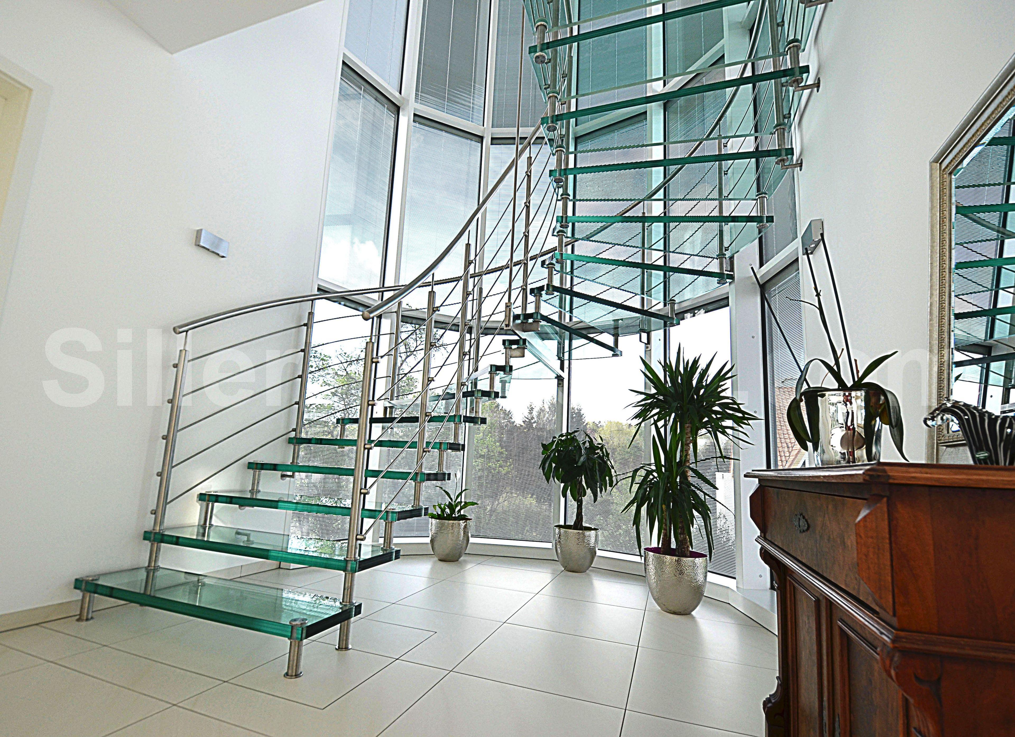 sevilla vetro open staircase by siller treppen design. Black Bedroom Furniture Sets. Home Design Ideas