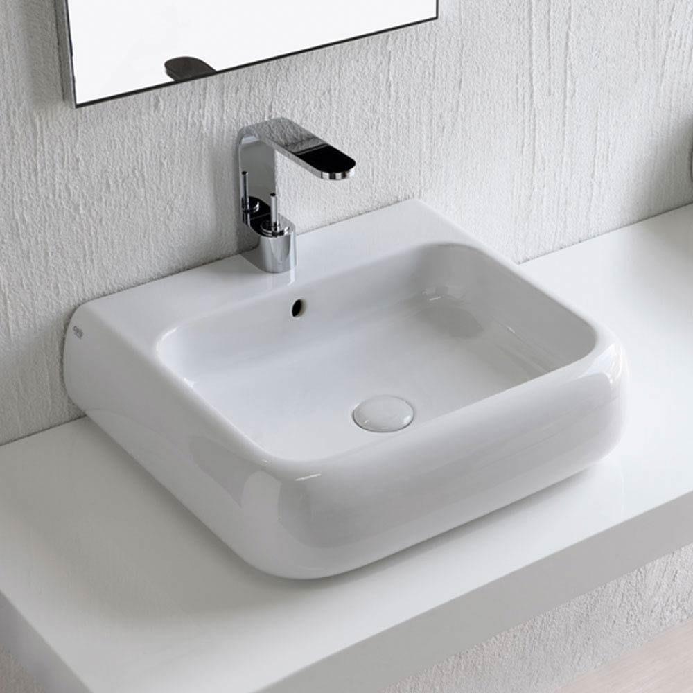 Shui lavabo sospeso by ceramica cielo design paolo d 39 arrigo for Lavabo sospeso