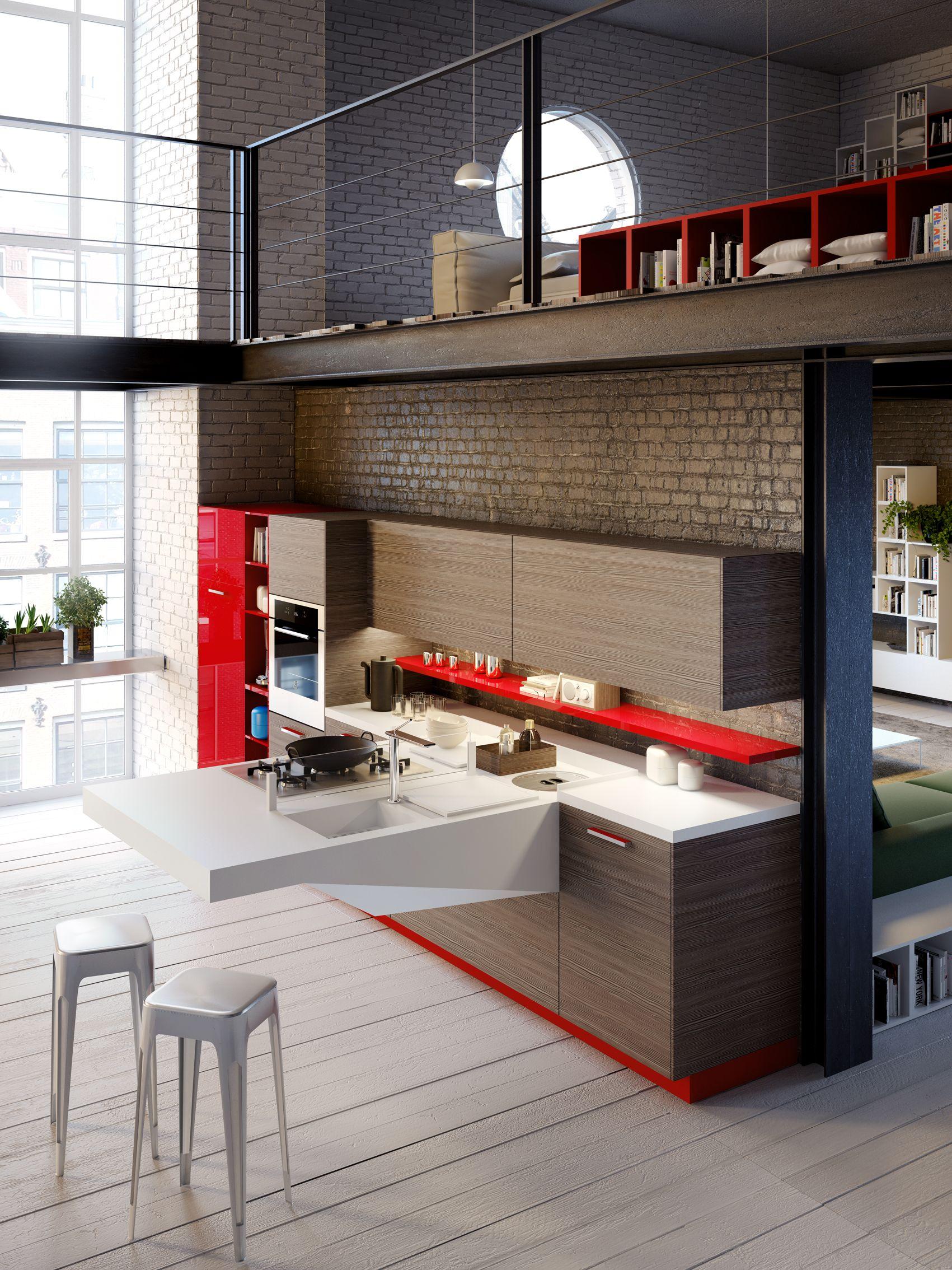 Piccole Cucine Per Miniappartamenti | madgeweb.com idee di ...