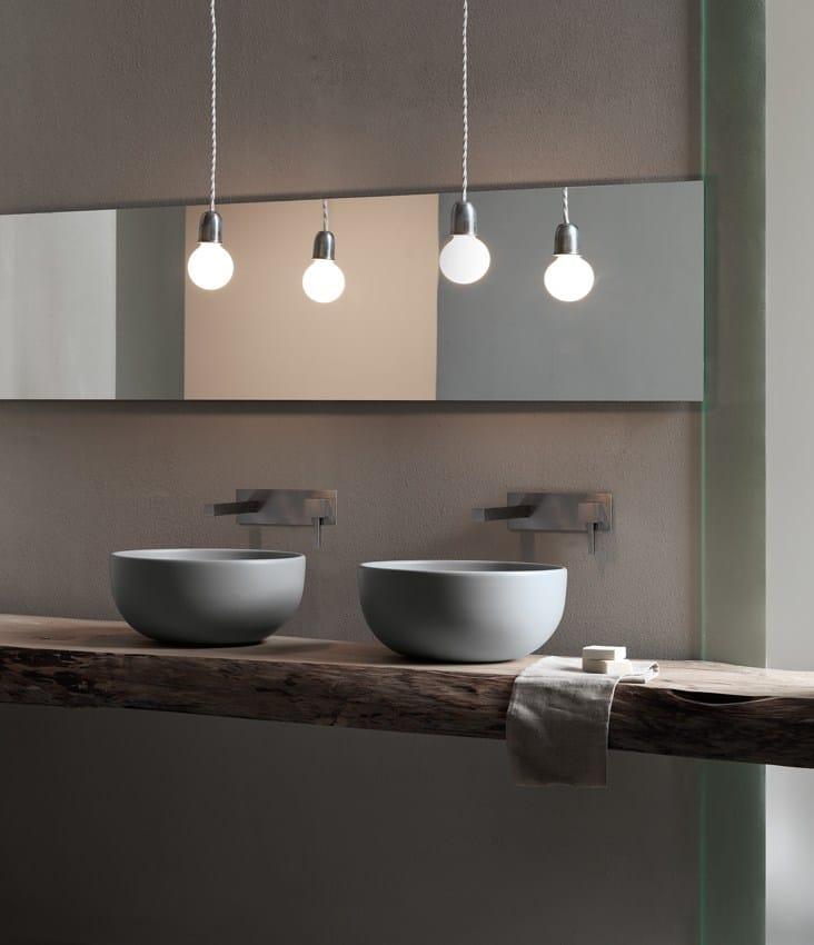 Shui lavabo rotondo by ceramica cielo design paolo d 39 arrigo for Lavabo design