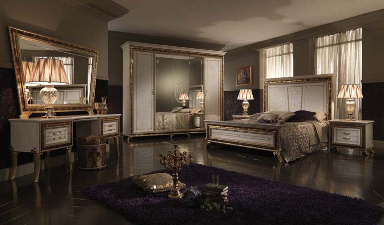 Camera da letto in stile classico collezione raffaello by - Camera da letto stile classico ...