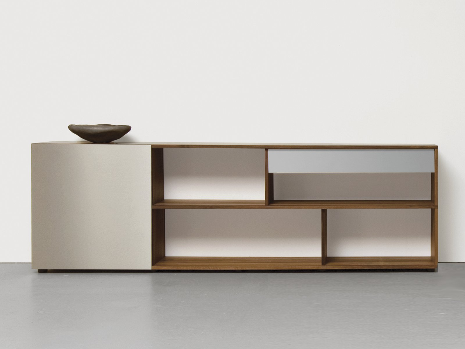 sideboard with sliding doors analog by sanktjohanser design matthias. Black Bedroom Furniture Sets. Home Design Ideas