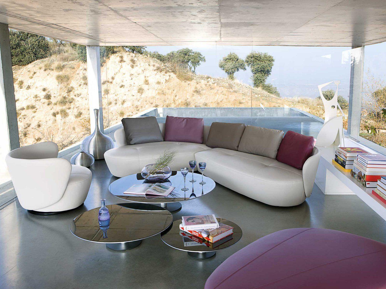 les concepteurs artistiques canapes cuir roche bobois. Black Bedroom Furniture Sets. Home Design Ideas