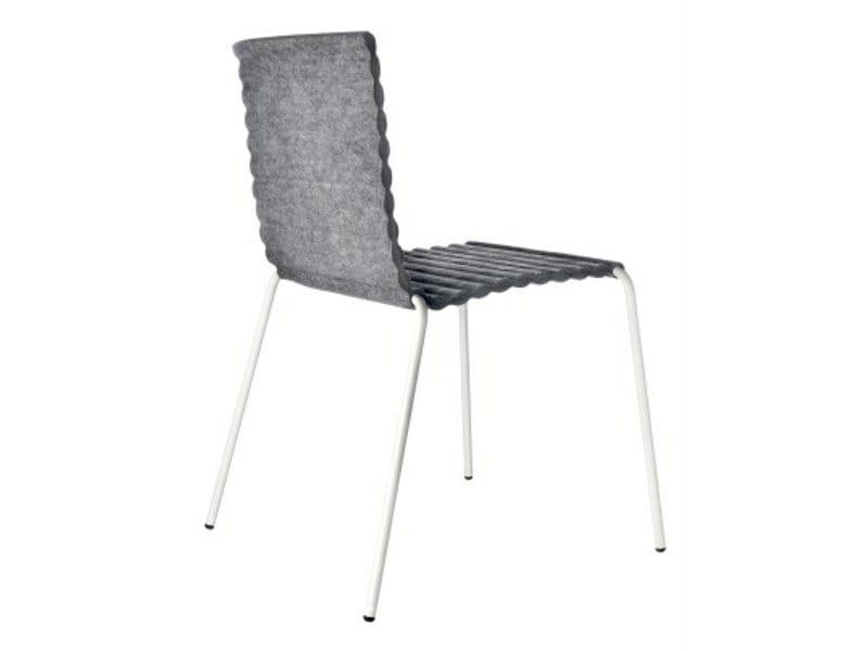 Rib stuhl by johanson design design alexander lervik for Design stuhl filz