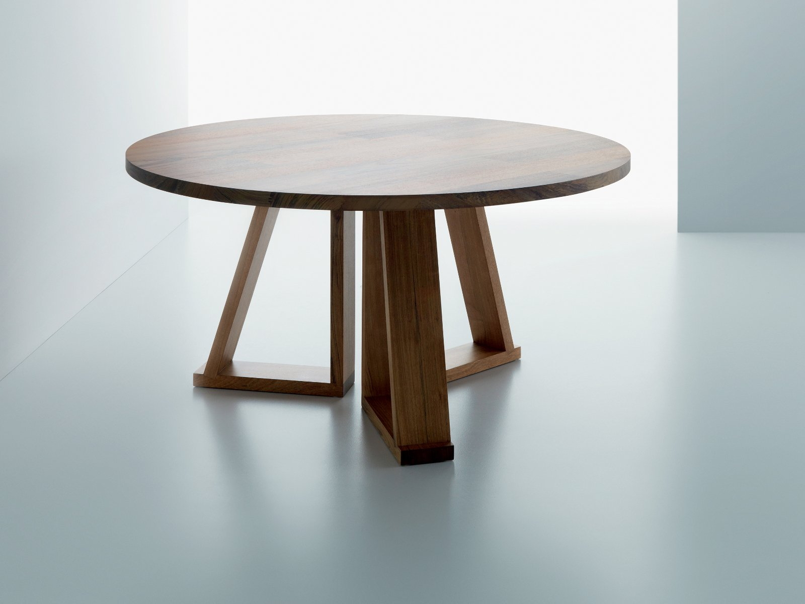Round Solid Wood Coffee Table Solid By Miniforms Design Oggimai Studio