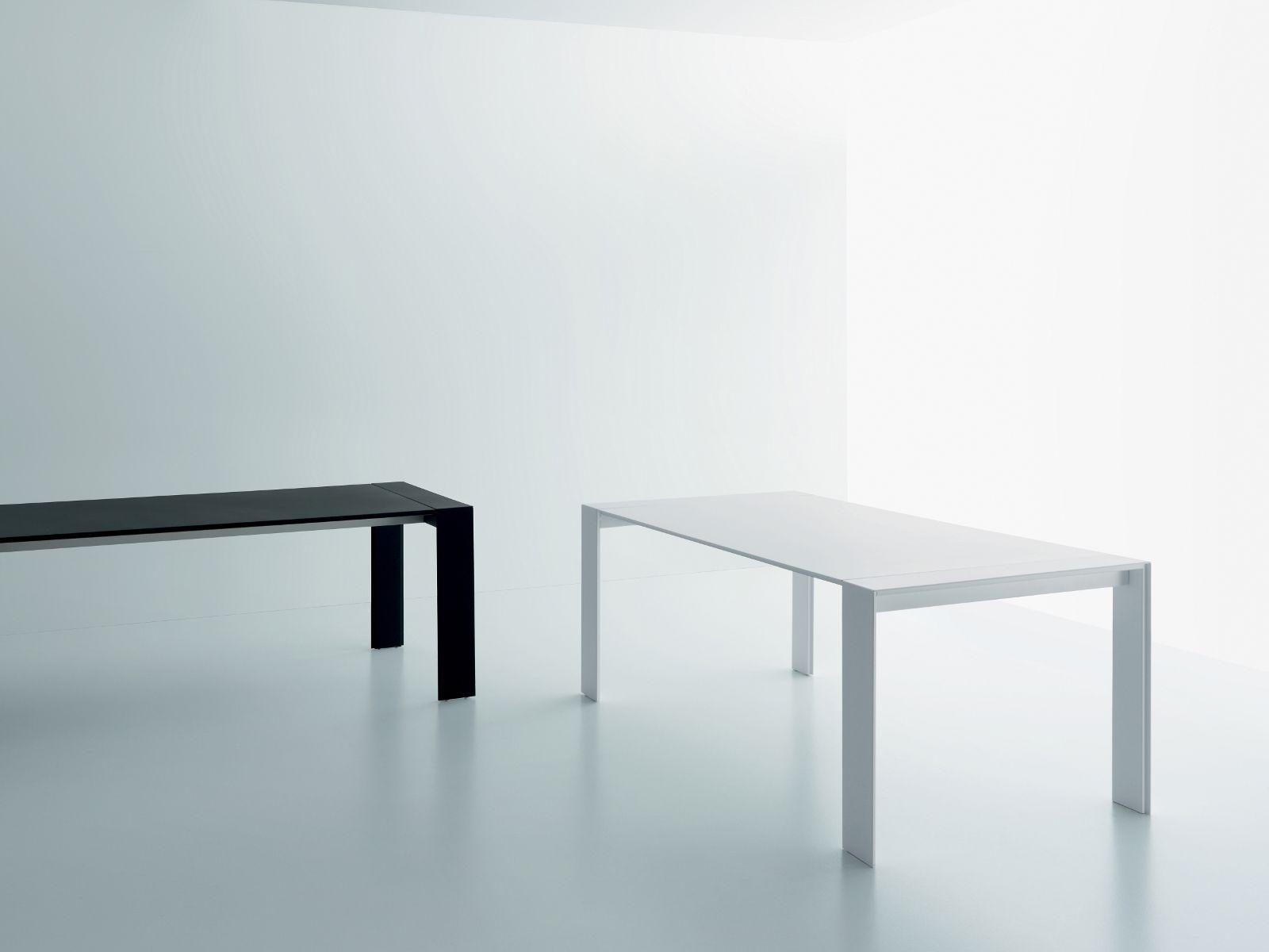 Mesa extensible rectangular wally by miniforms dise o for Mesa rectangular extensible