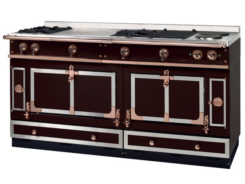 Stainless steel cooker ch teau 165 ch teau collection by - Piano de cuisine la cornue ...