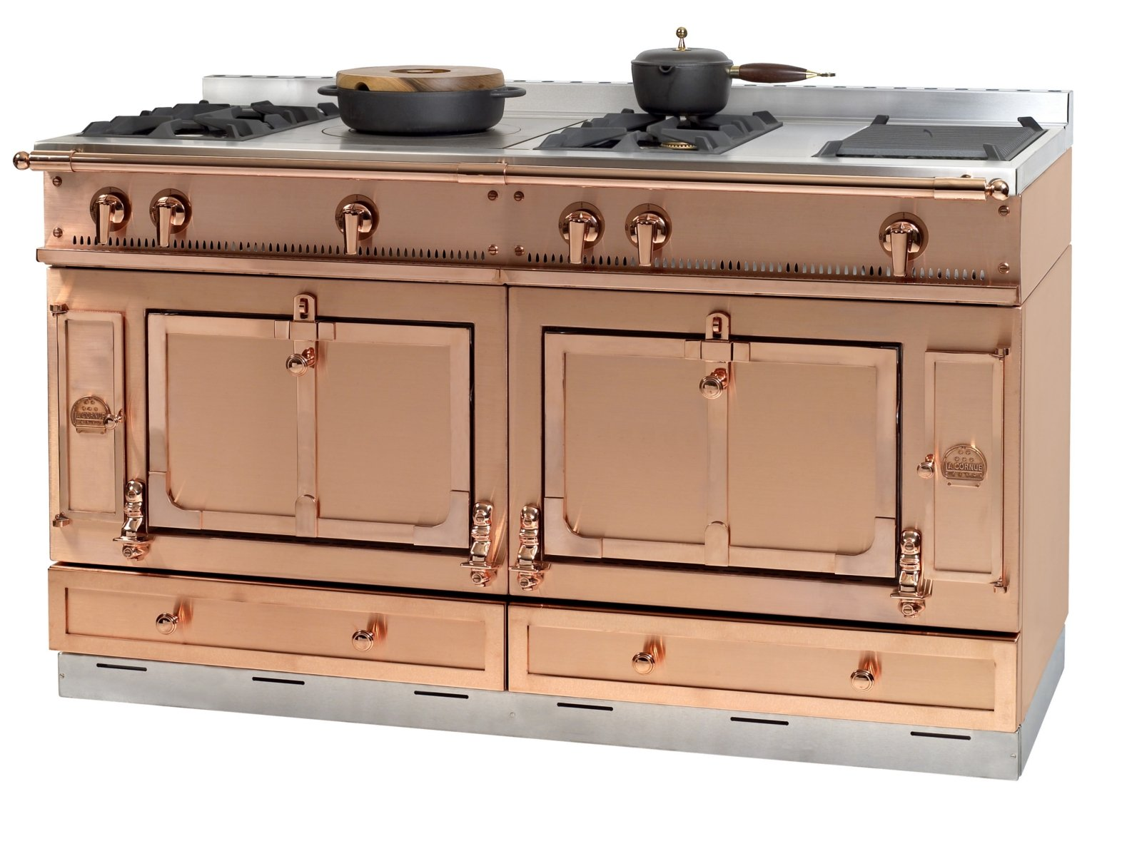 Stainless steel cooker CHÂTEAU 150 by La Cornue