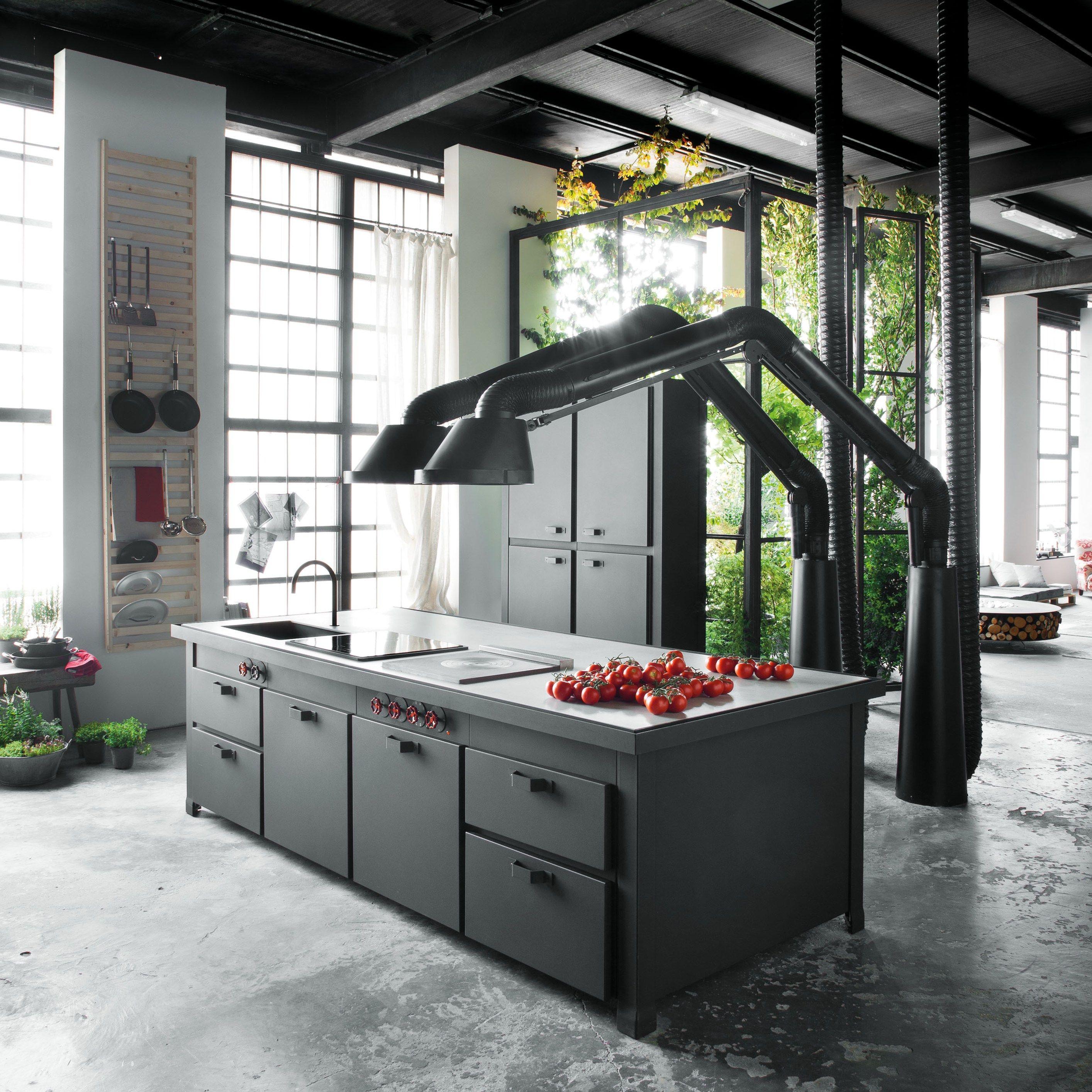 Industrial kitchen hood design - Industrial Kitchen Hood Design