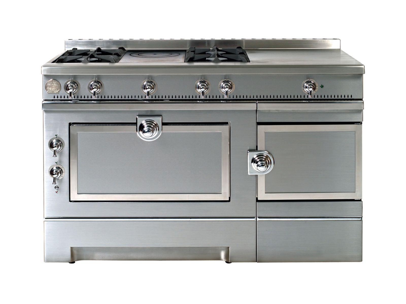 Cuisini re en acier inoxydable gran papa 135 by la cornue for Prix cuisiniere la cornue
