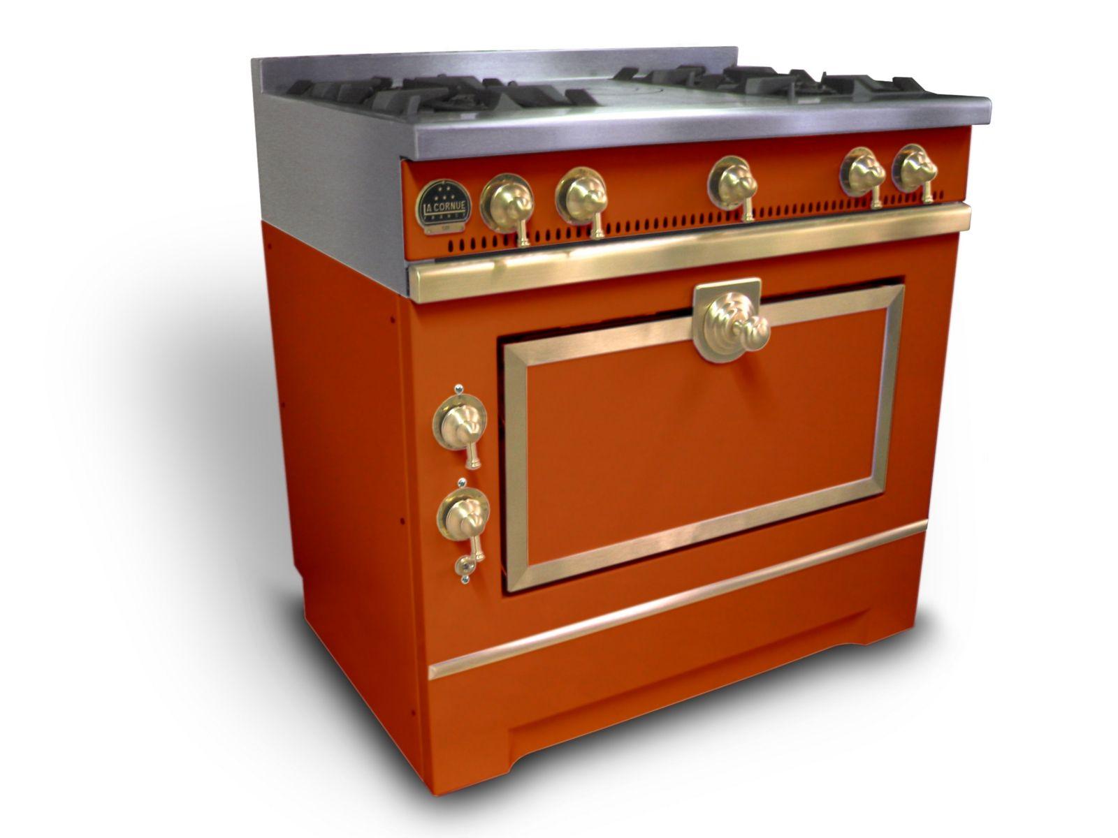 Cuisini re en acier inoxydable grand maman 90 by la cornue - La cornue cuisiniere prix ...