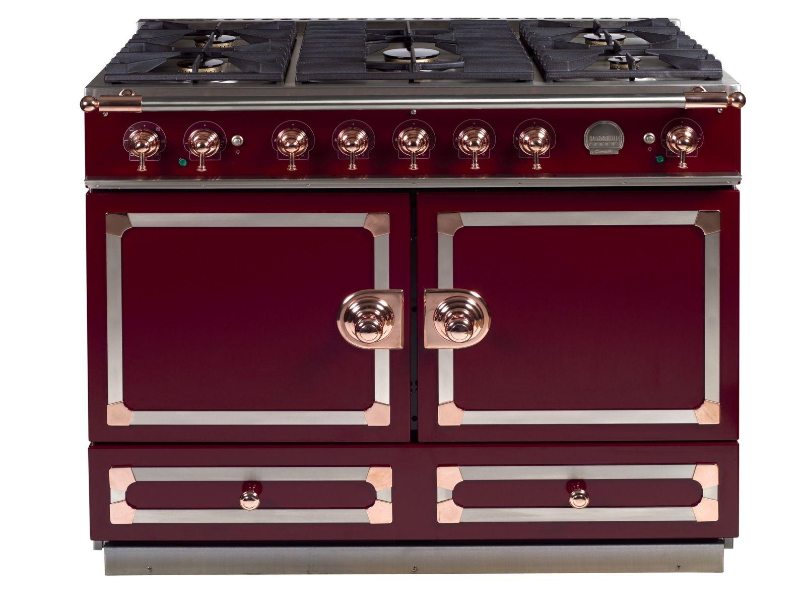 stainless steel cooker cornuf 110 by la cornue. Black Bedroom Furniture Sets. Home Design Ideas