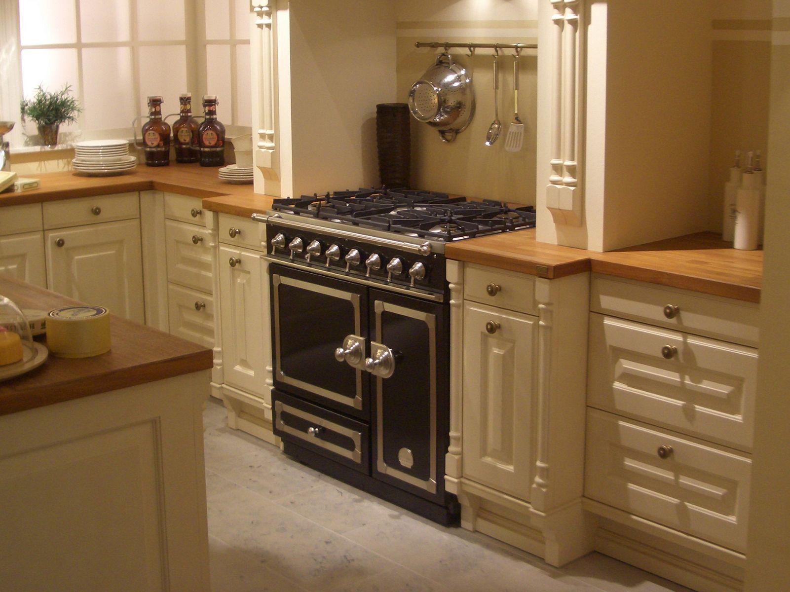 Stainless steel cooker cornuf 90 cornuf collection by la cornue - La cornue chateau 90 ...