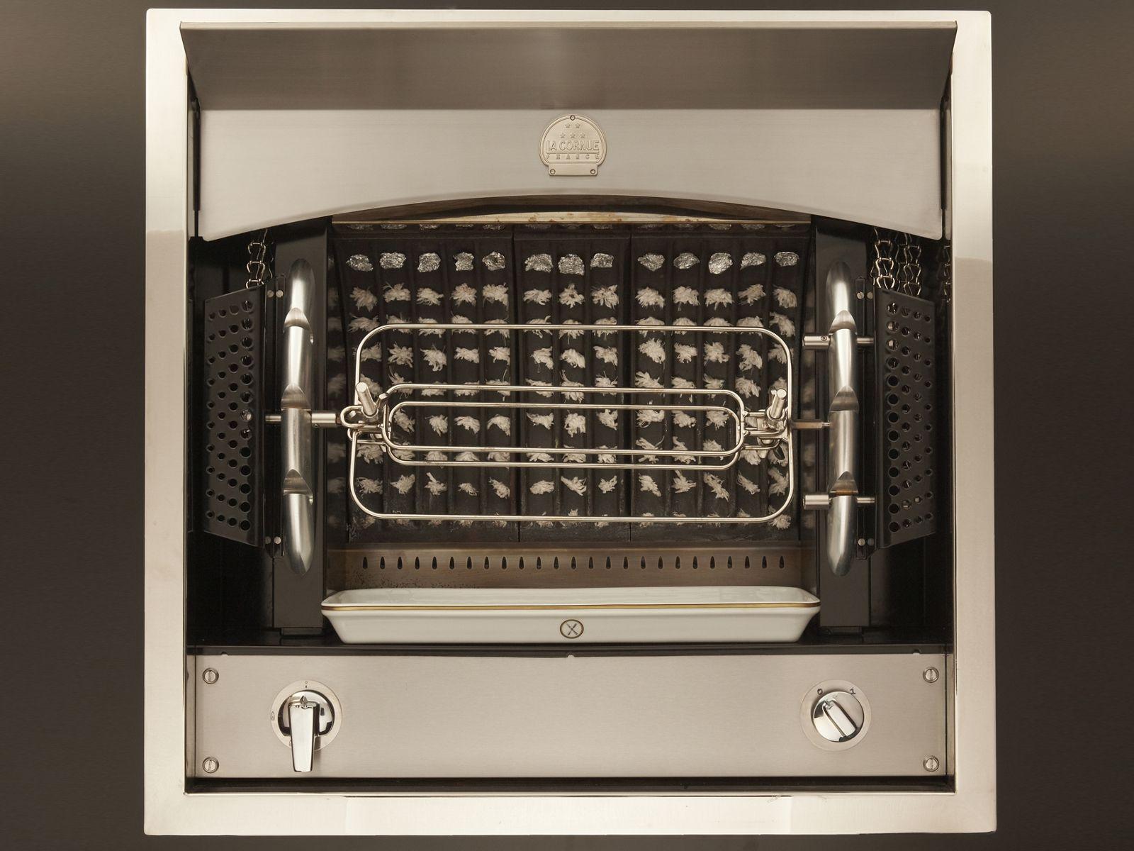 forno da incasso flamberge girarrosto by la cornue. Black Bedroom Furniture Sets. Home Design Ideas