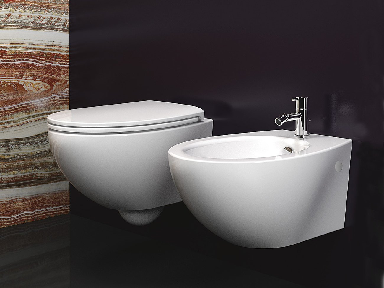 Velis 57 sosp bidet by ceramica catalano for Ceramica catalano