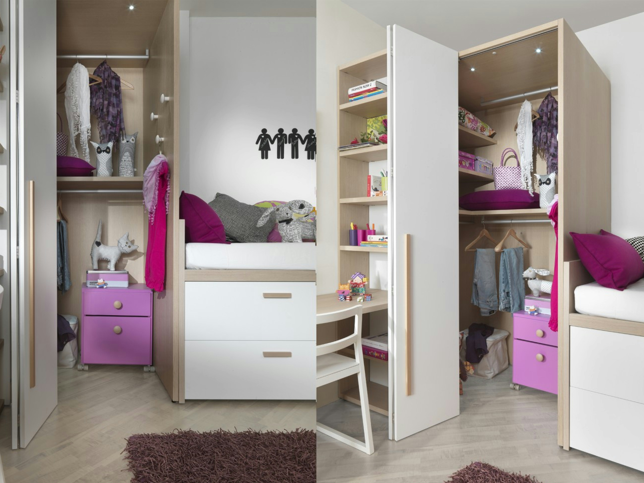 2012 bett mit aufbewahrung by dearkids. Black Bedroom Furniture Sets. Home Design Ideas