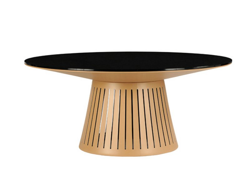 table ronde bois moderne. Black Bedroom Furniture Sets. Home Design Ideas