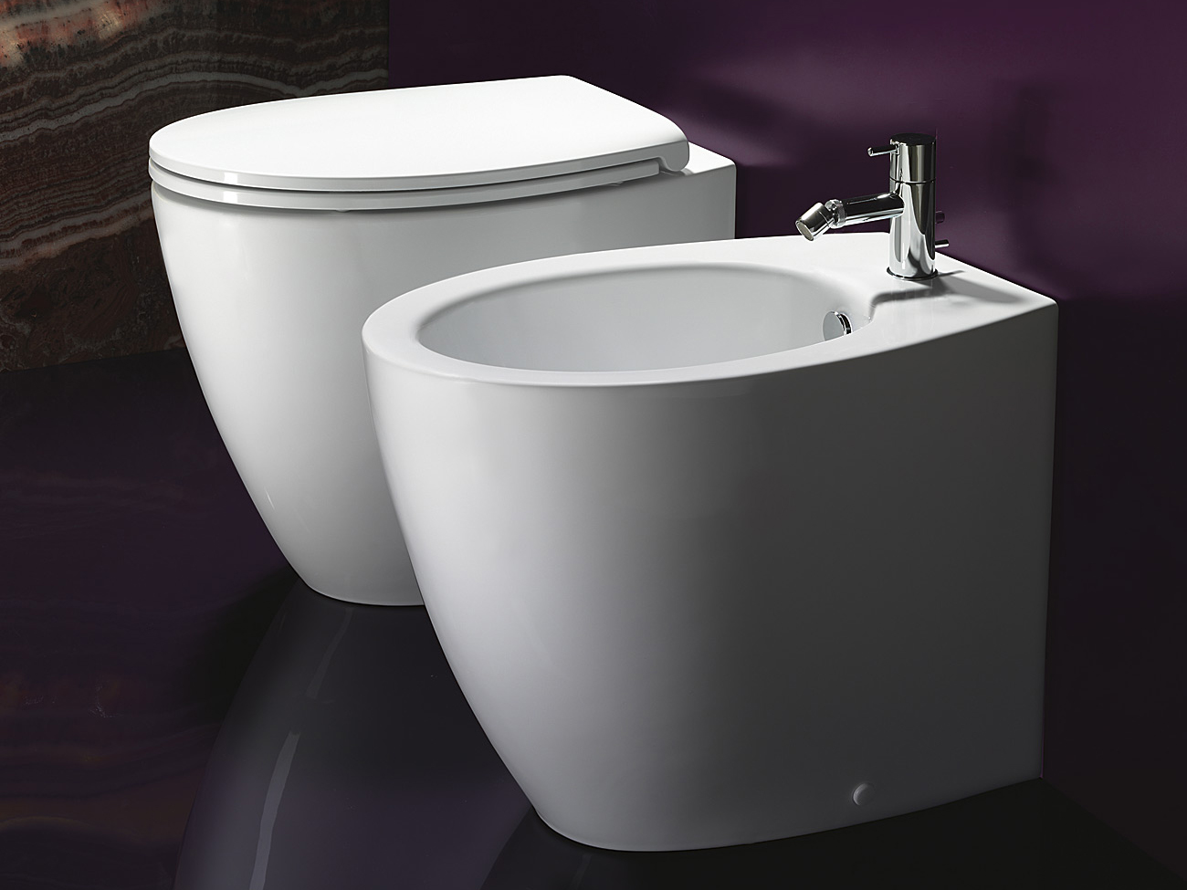 Ceramic bidet velis 57 velis collection by ceramica catalano for Ceramica catalano