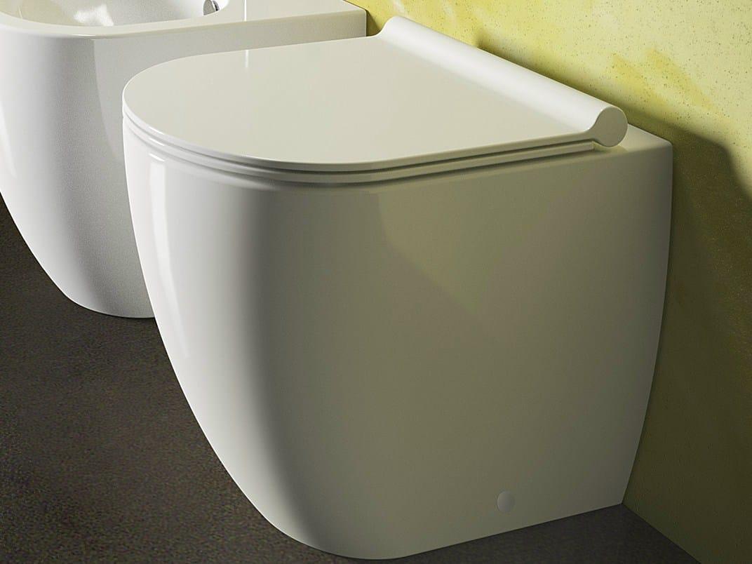 Sfera 52 wc by ceramica catalano - Sanitari filo parete prezzi ...
