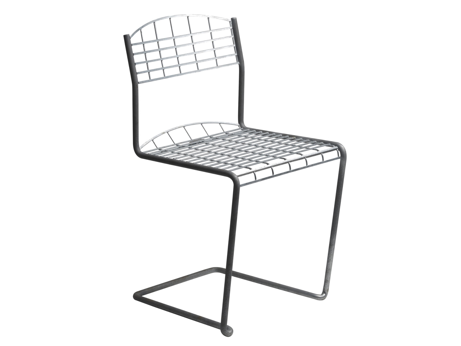High tech chaise de jardin by grythyttan st lm bler design for Porte metallique jardin