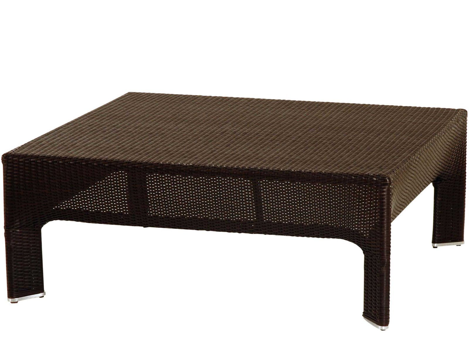 Low polyethylene coffee table bel air les contemporains for Table extensible roche bobois