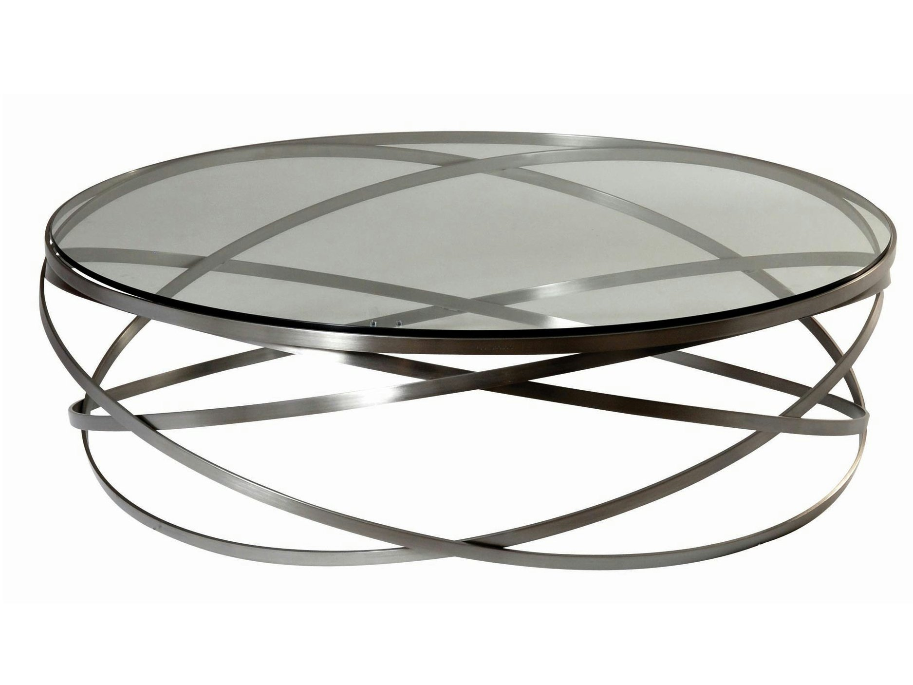 Table basse ronde evol by roche bobois design c dric ragot - Roche bobois table basse ...