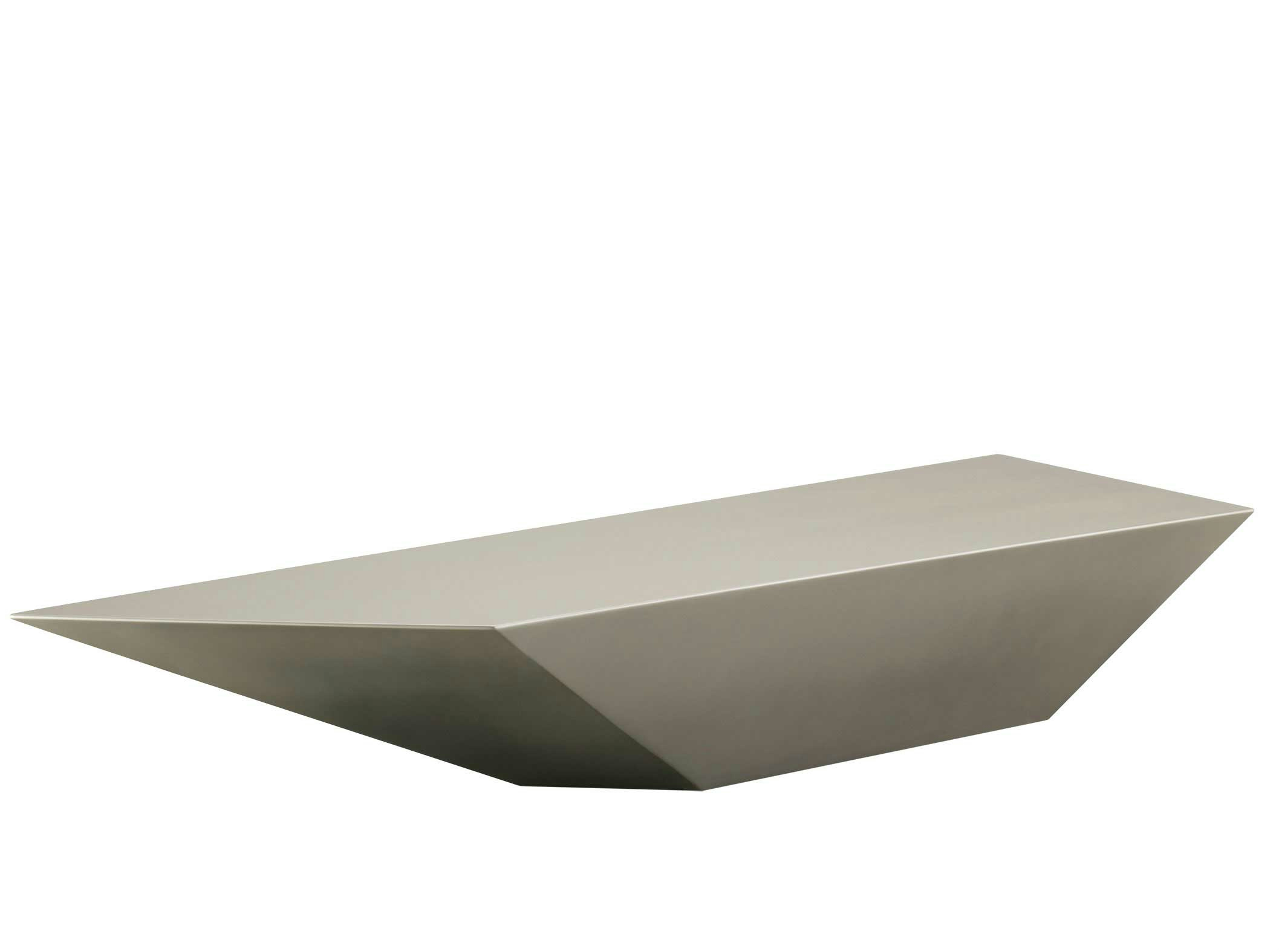Low Rectangular Coffee Table Furtif Les Contemporains Collection By Roche Bobois Design Daniel
