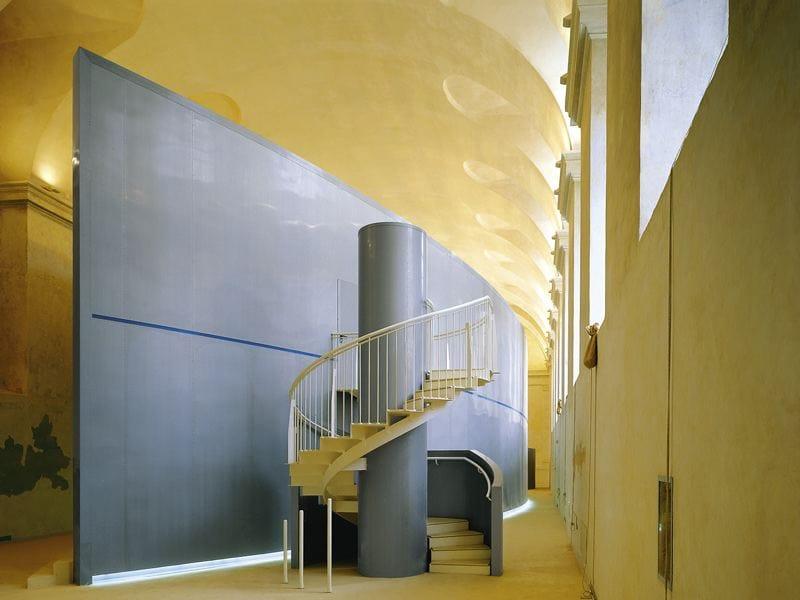Rev tement mural de zinc titane effet m tal interieur line for Interieur zinc