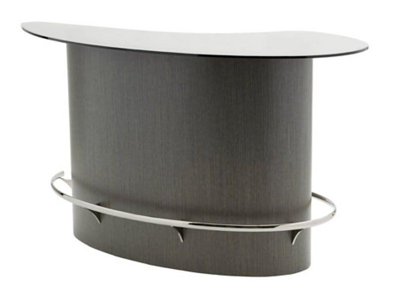 Ublo bar counter by roche bobois design sacha lakic for Bar roche bobois