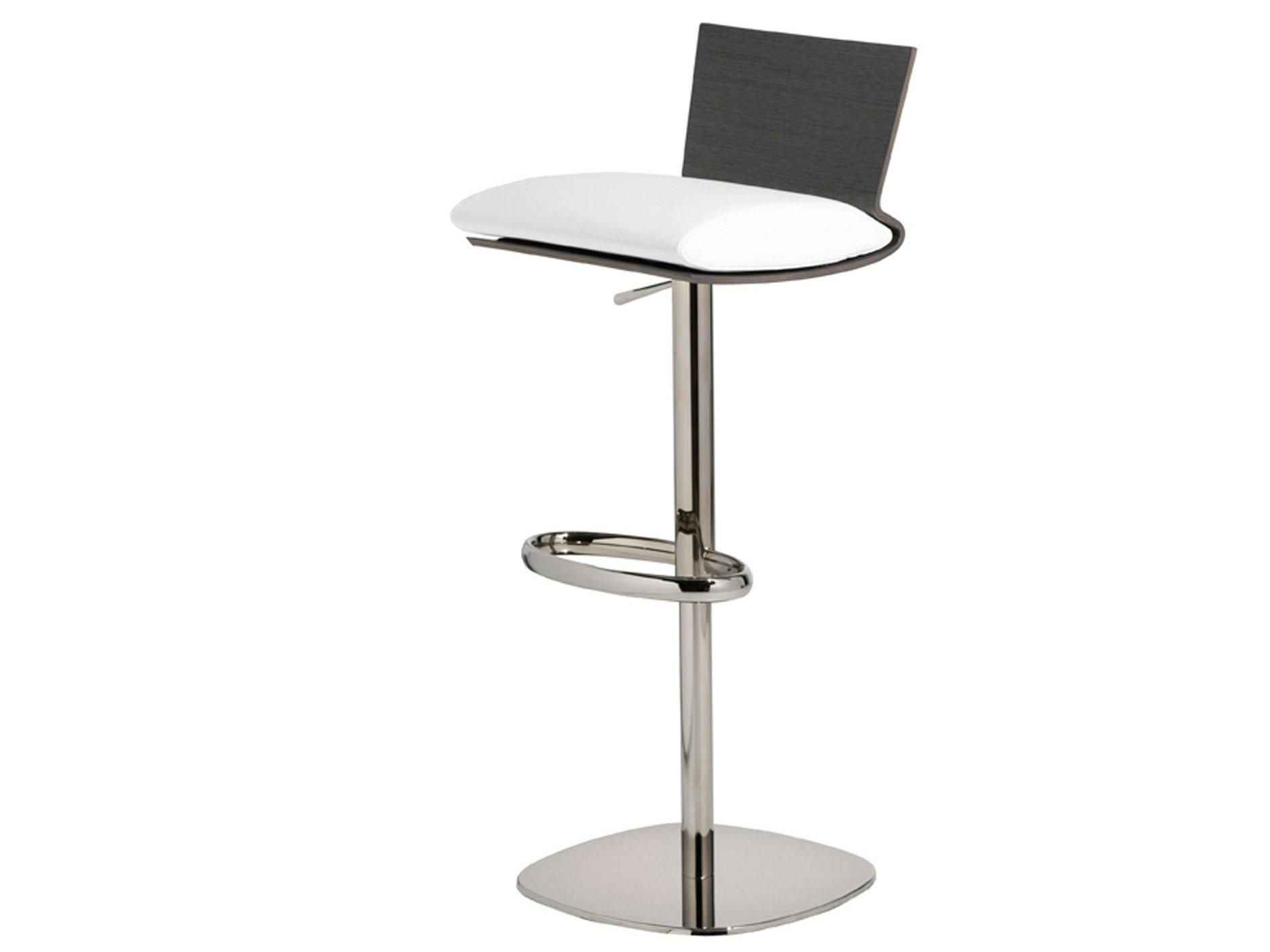 Tabouret de bar pivotant ublo collection les contemporains by roche bobois - Tabouret roche bobois ...
