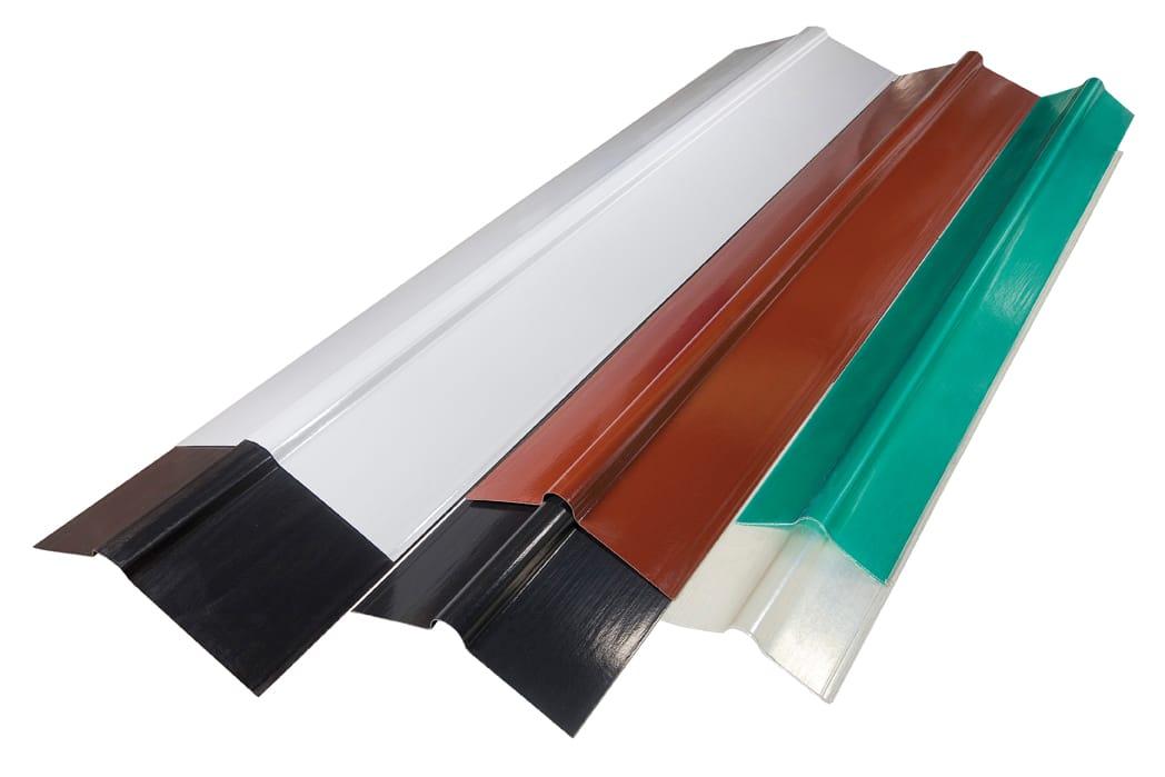 Laminati in vetroresina in lastre e rotoli ondulati e for Lamiera ondulata zincata prezzi