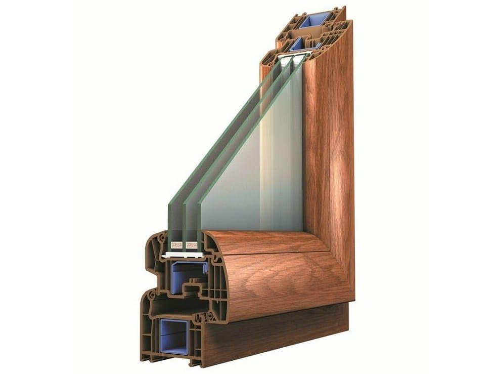 Finestra in pvc con triplo vetro platinium evolution by for Oknoplast prezzi