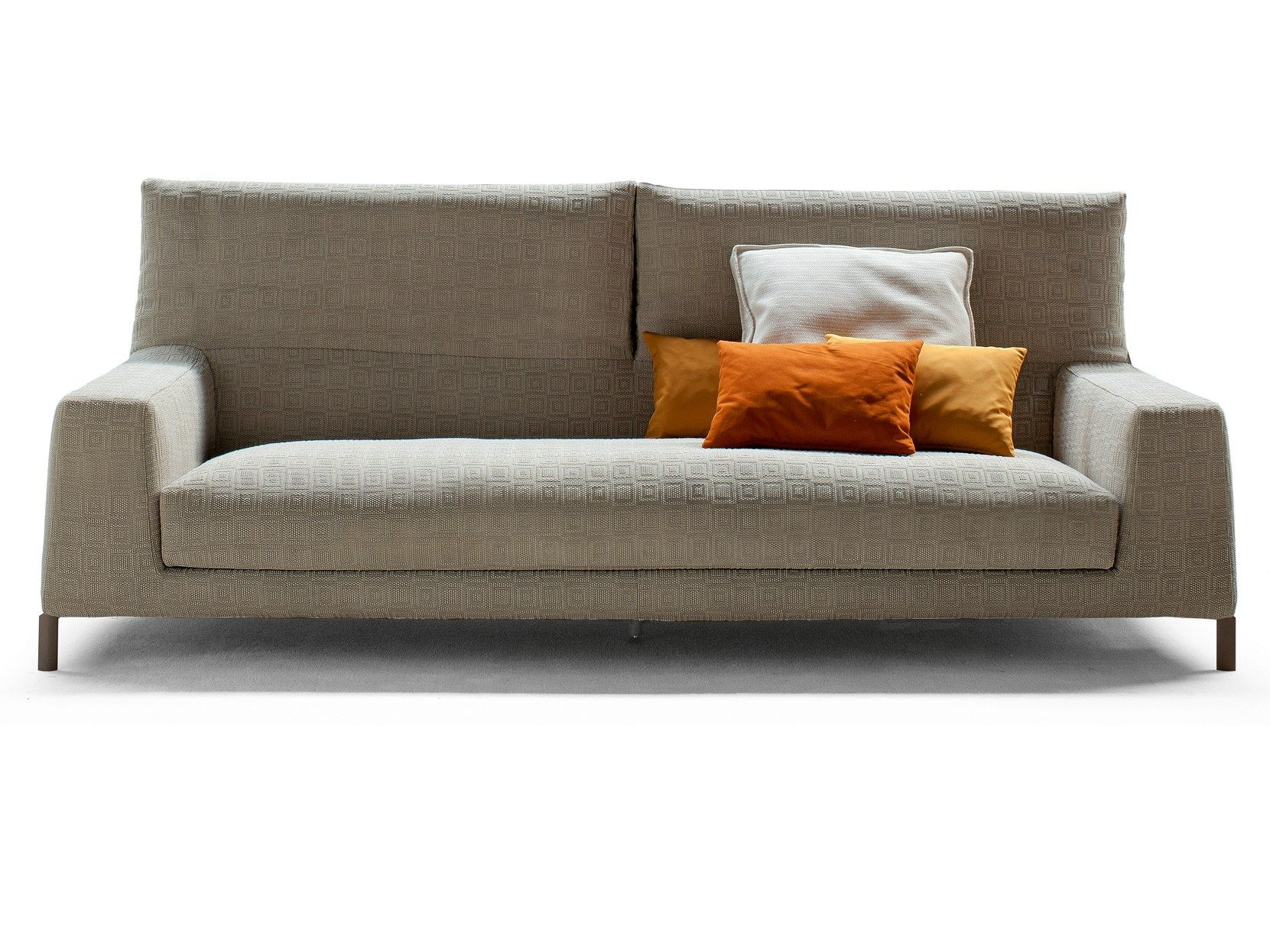 Canap convertible avec repose t te vita by bonaldo design for Appui tete canape