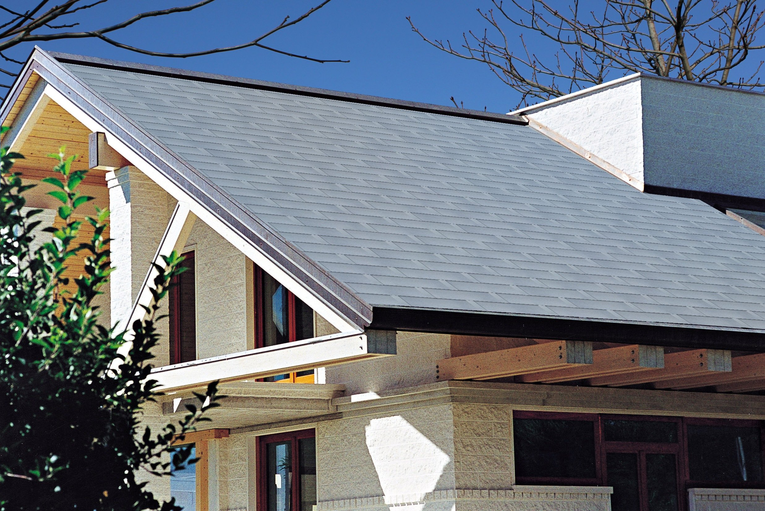 Aluminium Roof Shingle Prestige Ultimetal By Tegola Canadese