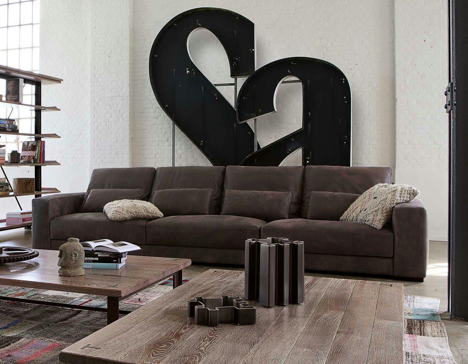 Canap en cuir madeos collection nouveaux classiques by roche bobois design - Canape en cuir contemporain roche bobois ...