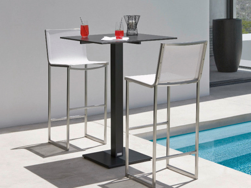 mesa jardim quadrada:High Top Bar Table