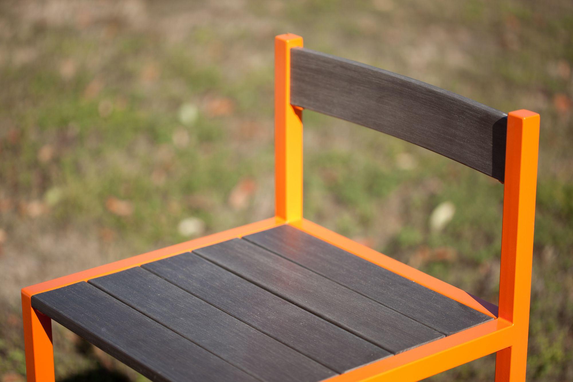 Sedia da giardino in acciaio design too gether collezione for Corradi arredi
