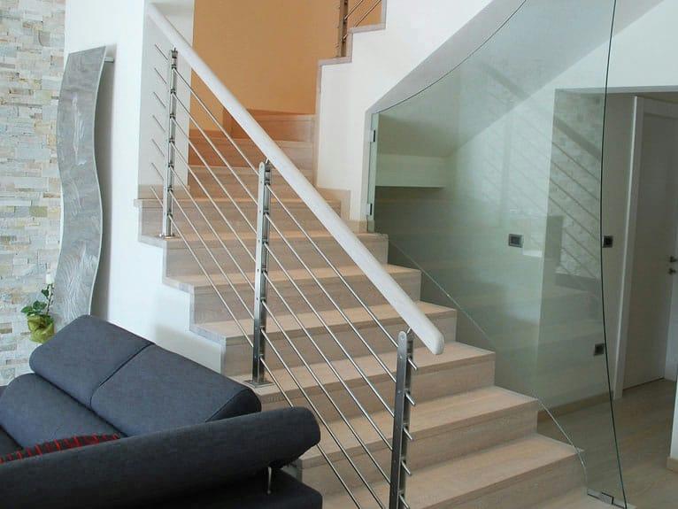 Baranda de escalera de acero inoxidable twin plus by - Barandas de inoxidable ...