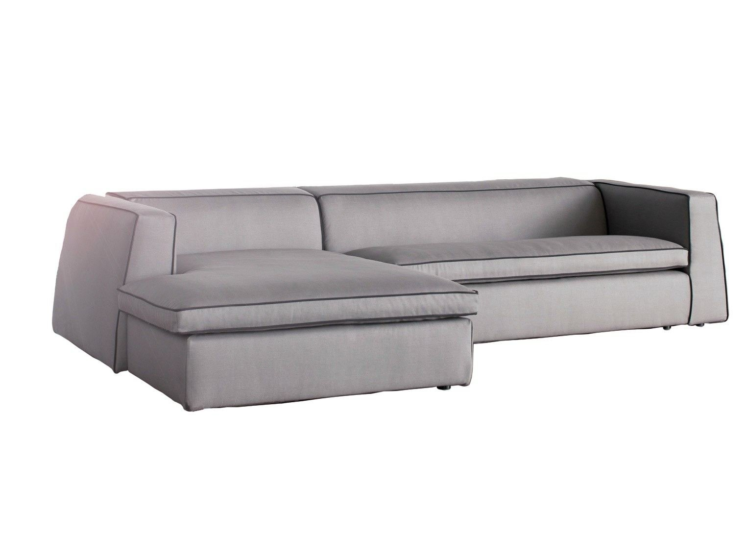 good mood sofa with chaise longue by bonaldo design. Black Bedroom Furniture Sets. Home Design Ideas