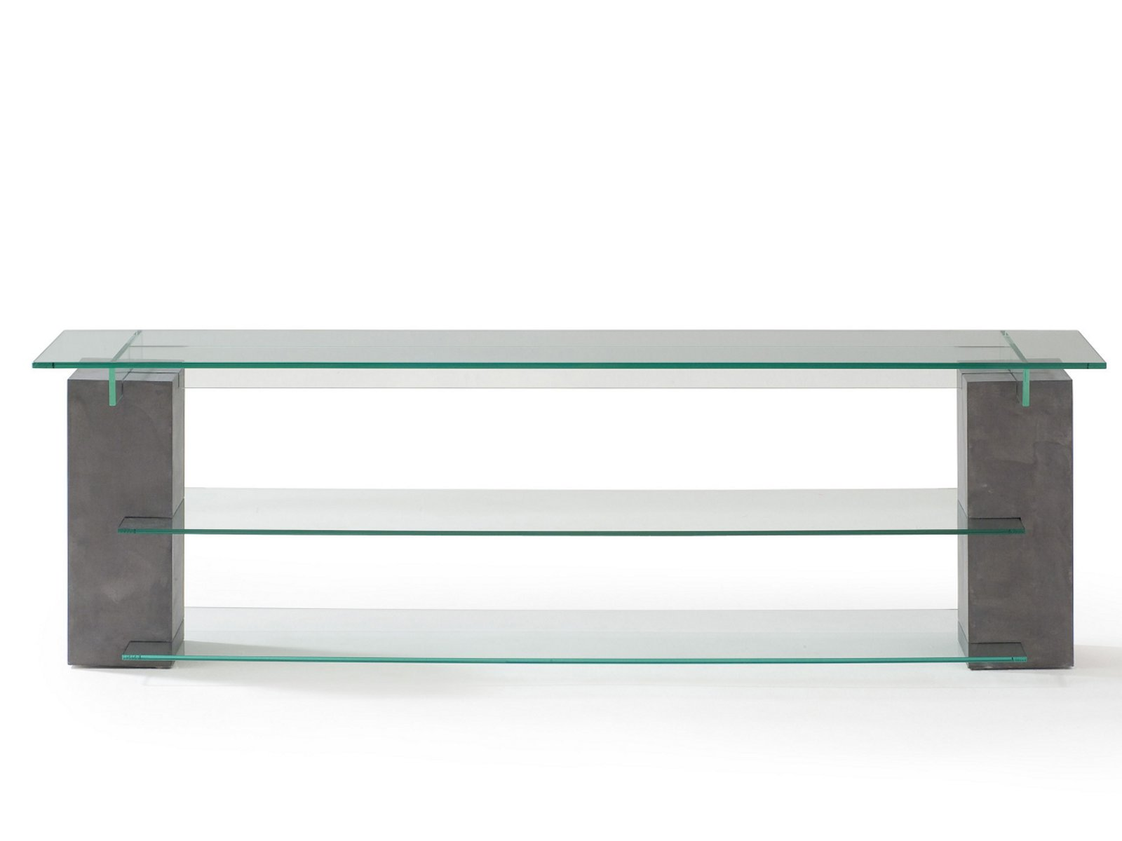 Meuble tv en verre tenere collection les contemporains by roche bobois - Roche bobois meuble tv ...
