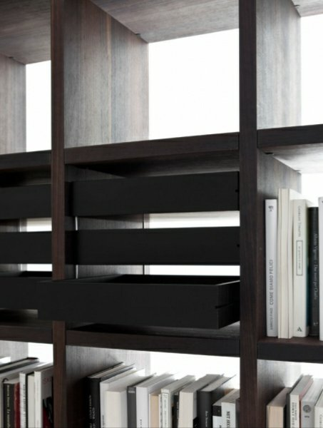 offenes b cherregal aus holz system 2012 kollektion system. Black Bedroom Furniture Sets. Home Design Ideas