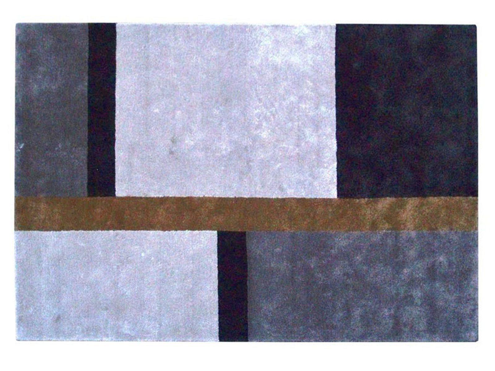 Tapis en viscose tempo by roche bobois for Tapis contemporain roche bobois