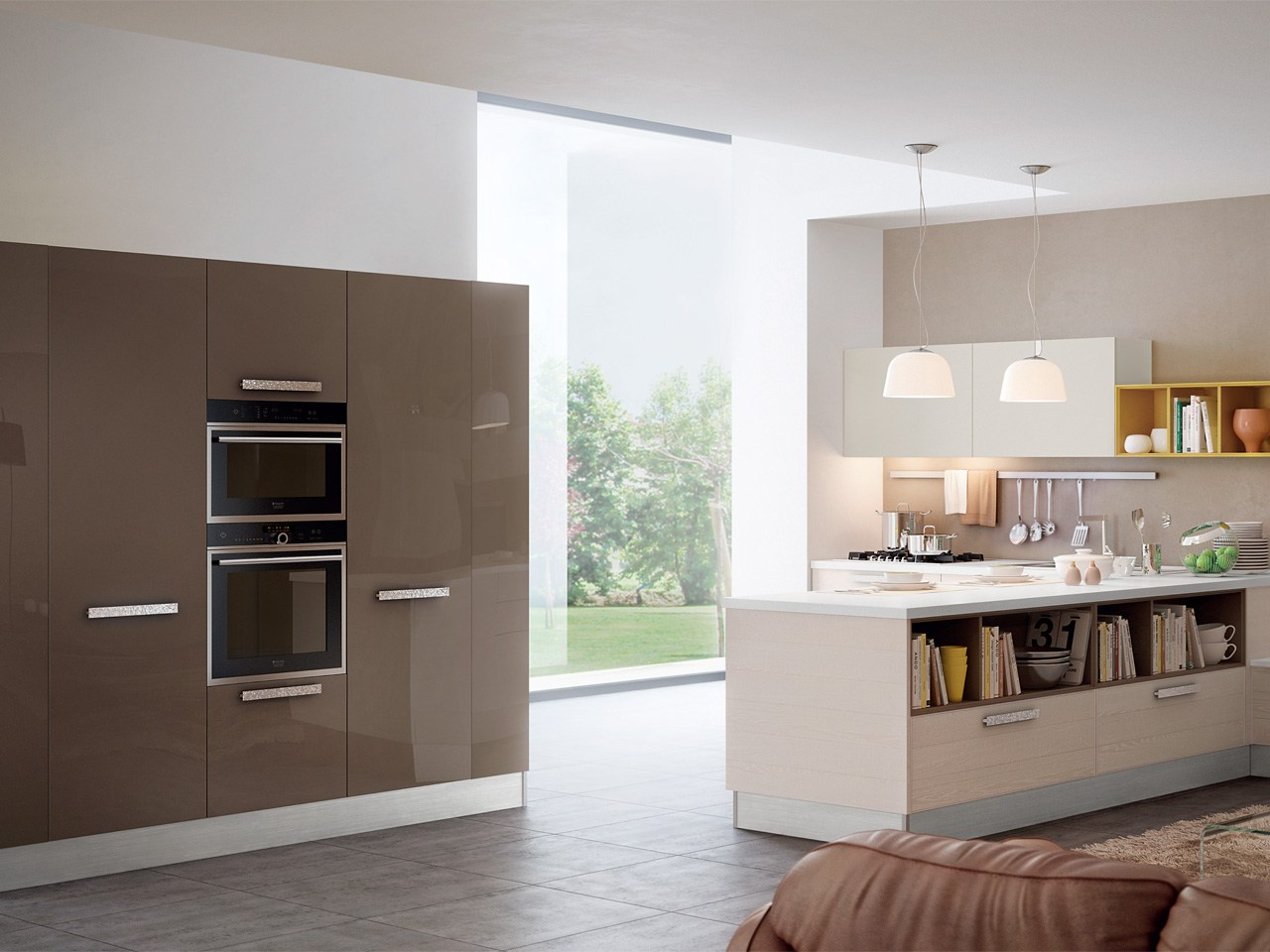 ADELE PROJECT   Wooden kitchen By Cucine Lube