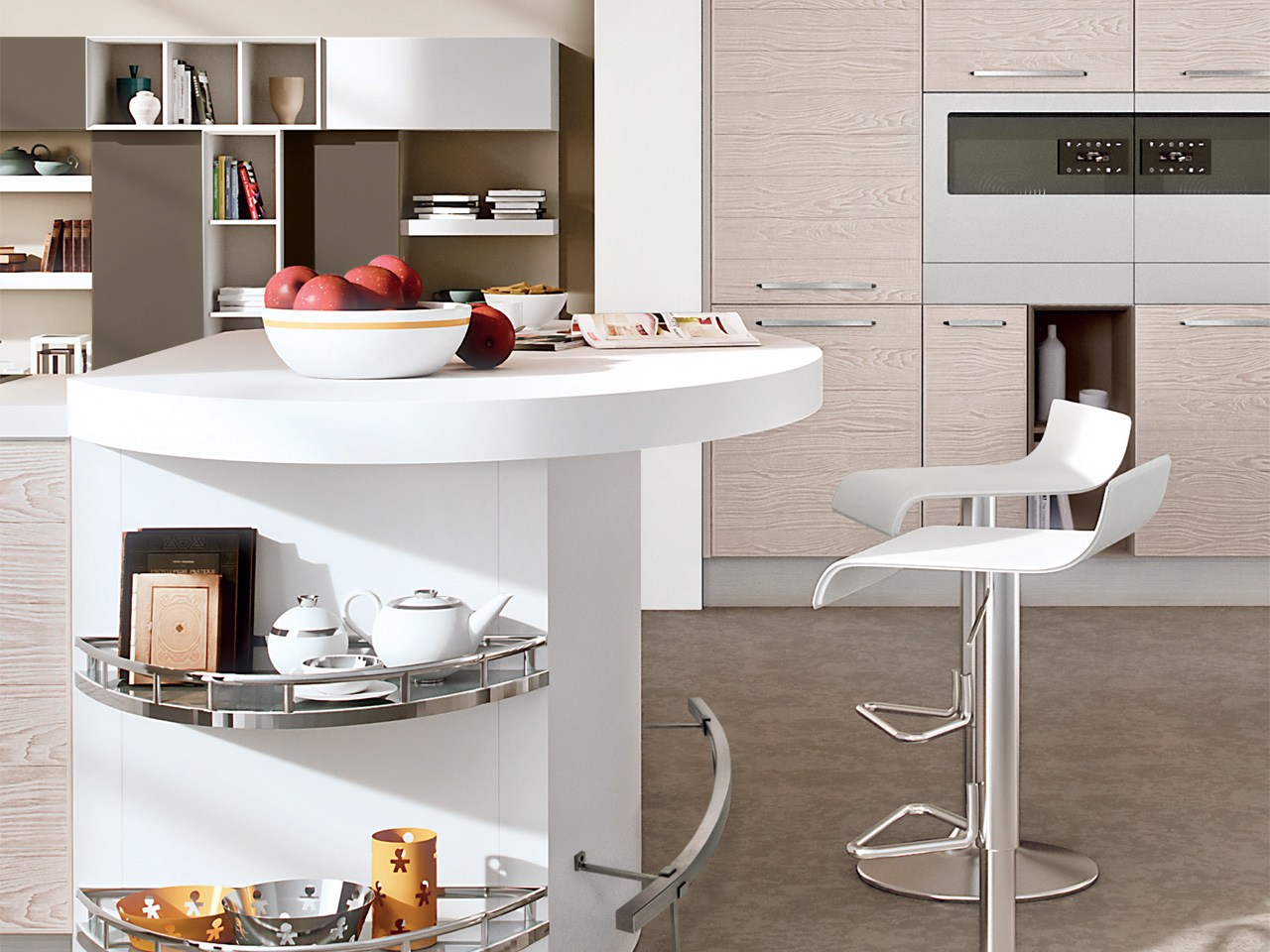 ADELE PROJECT   厨房By Cucine Lube