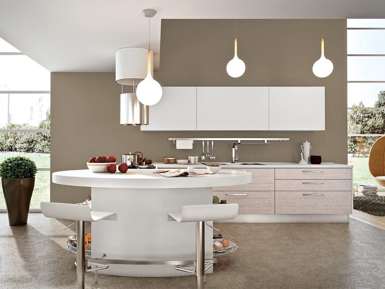 Cucina Componibile Laccata In Legno #9E5E2D 1280 960 Immagini Pitture E Colori Di Cucine In Muratura