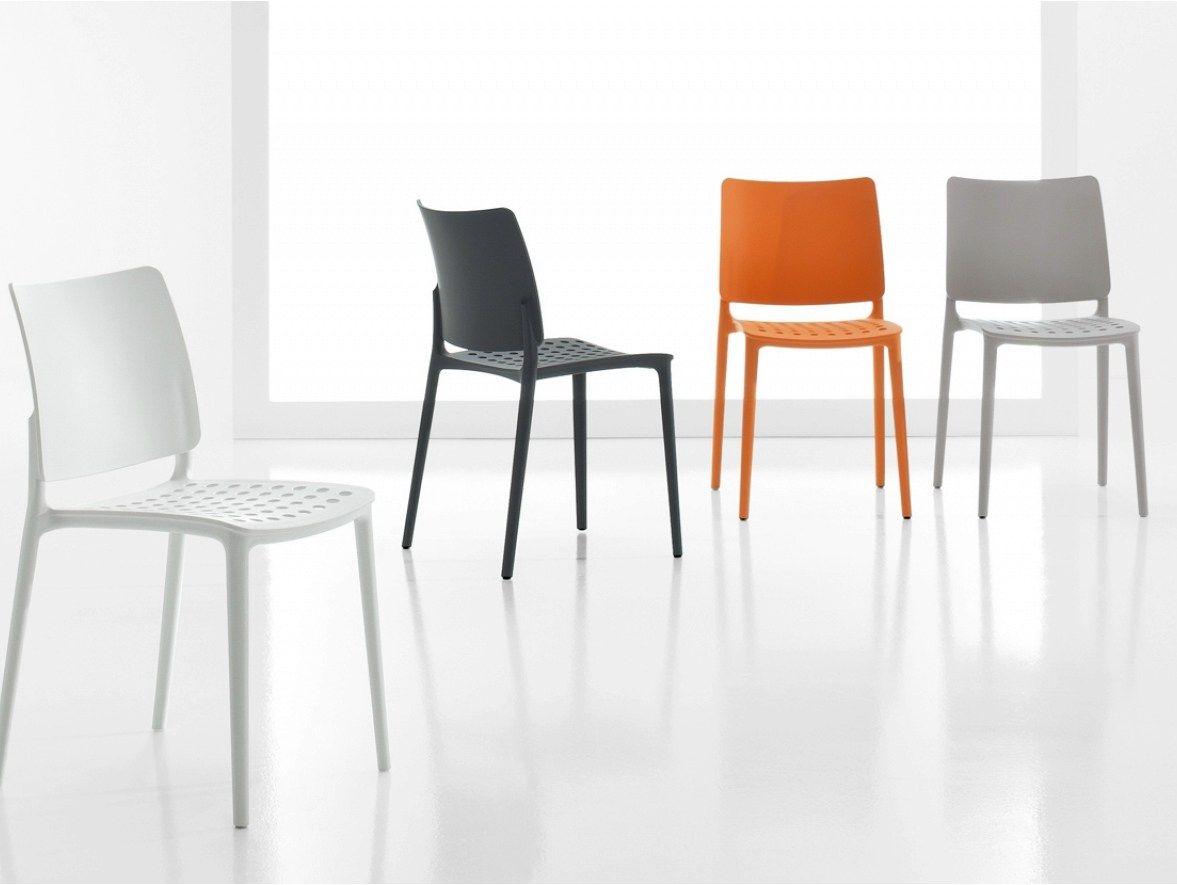 Blues chaise en polypropyl ne by bonaldo design archirivolto - Chaise en polypropylene ...