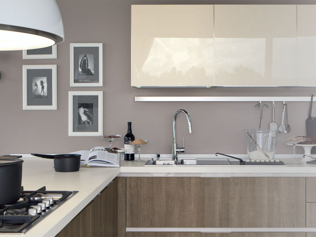 essenza kitchen by cucine lube